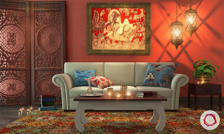 8 Essential Elements Of Traditional Indian Interior Design traditional paintings are an important element of indian style interiors