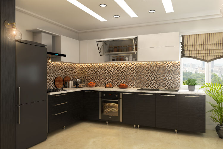 L Shaped Modular Kitchen Designs