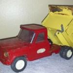 Old Tonka Toy Jeep Dump Truck Collectors Weekly