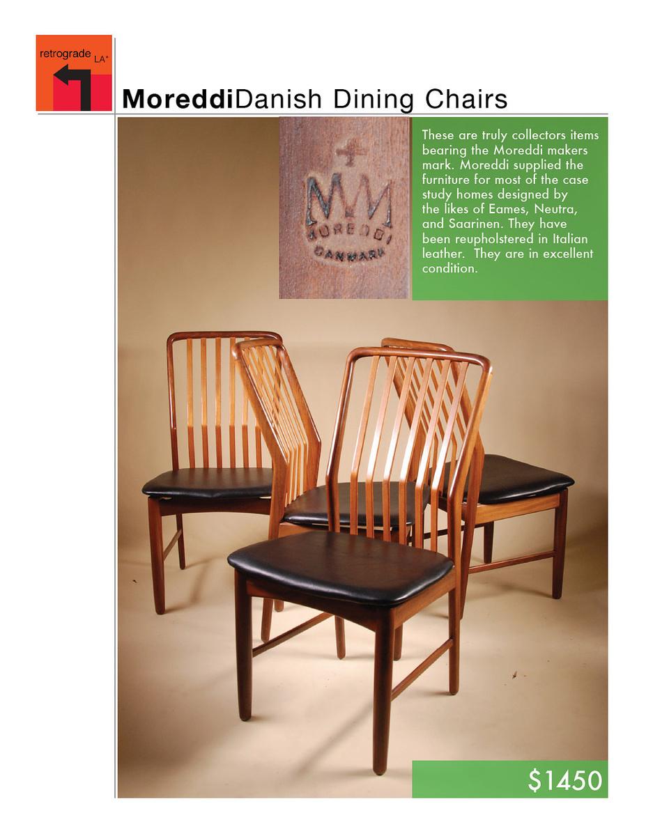 Mid Century Danish Modern Mm Moreddi Teak Side Chair By Sven