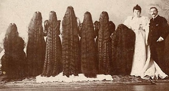 Seven Sutherland Sisters-The History Of Hair Health