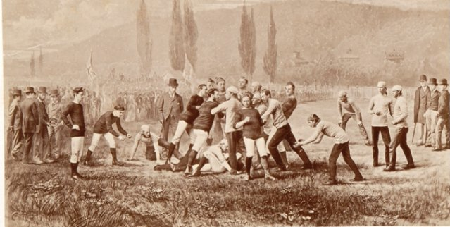 Birth Of North American Football 137 Years Cfl Ca