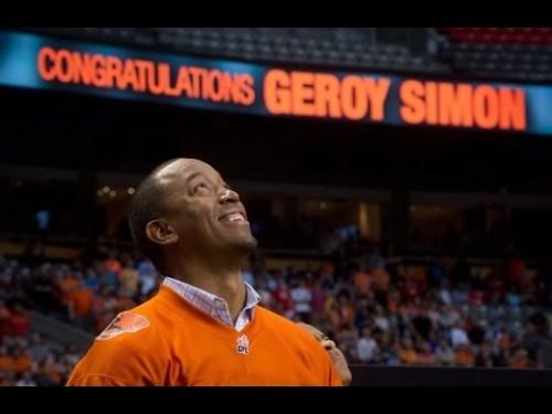 Congratulations Geroy Simon
