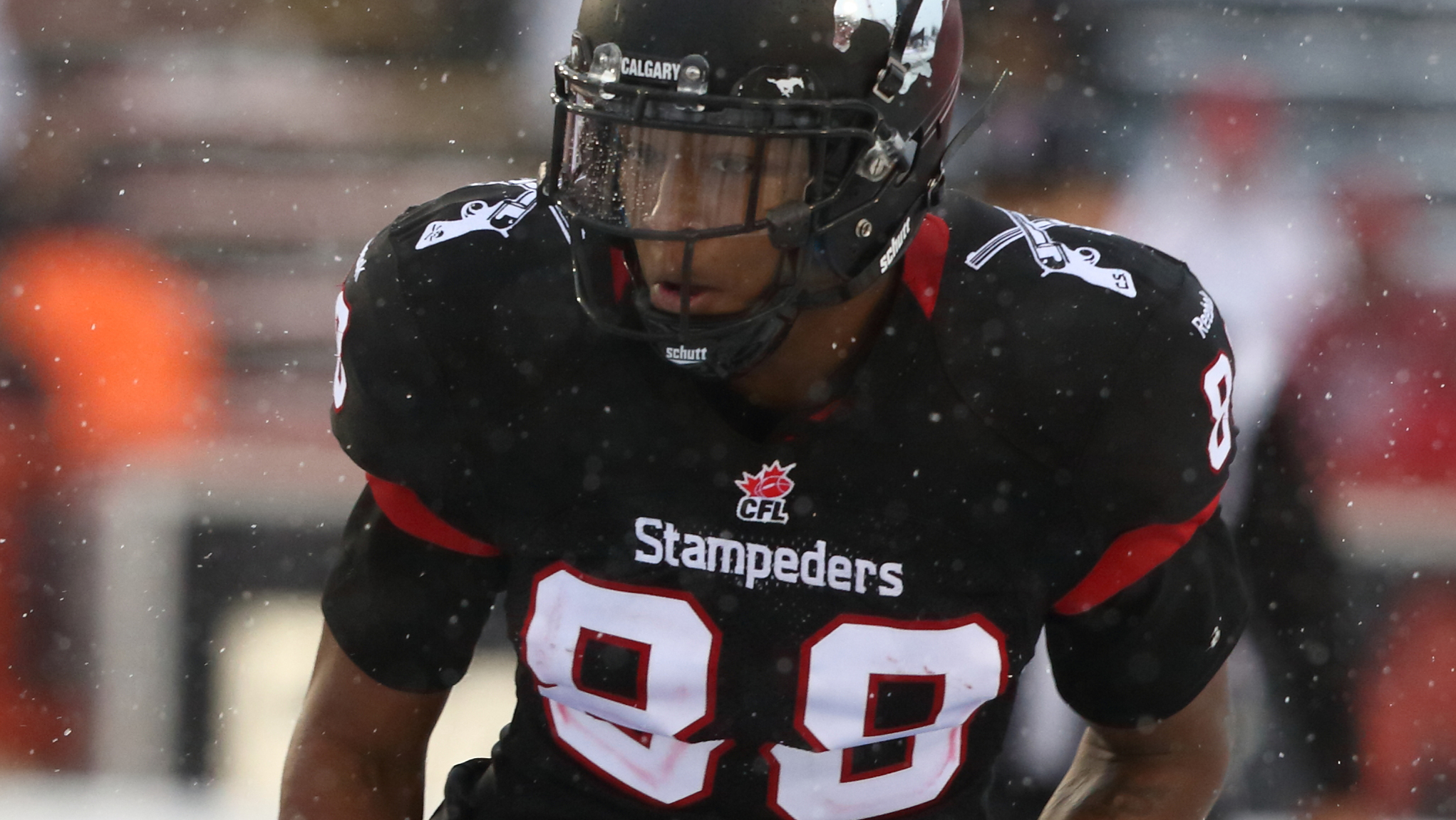Stamps Sign Kamar Jorden Calgary Stampeders