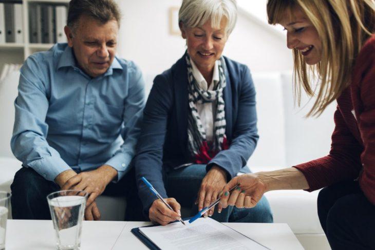 woman financial advisor and Loving Your Job
