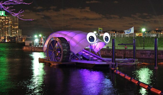 Mr Trash Wheel Cleans Up Baltimore Harbor With A Dash Of