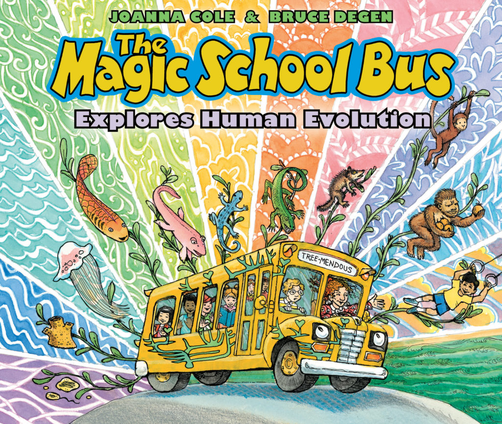 The Magic School Bus Tackles Human Evolution In Upcoming