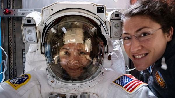 WATCH: NASA conducts 1st all-female spacewalk