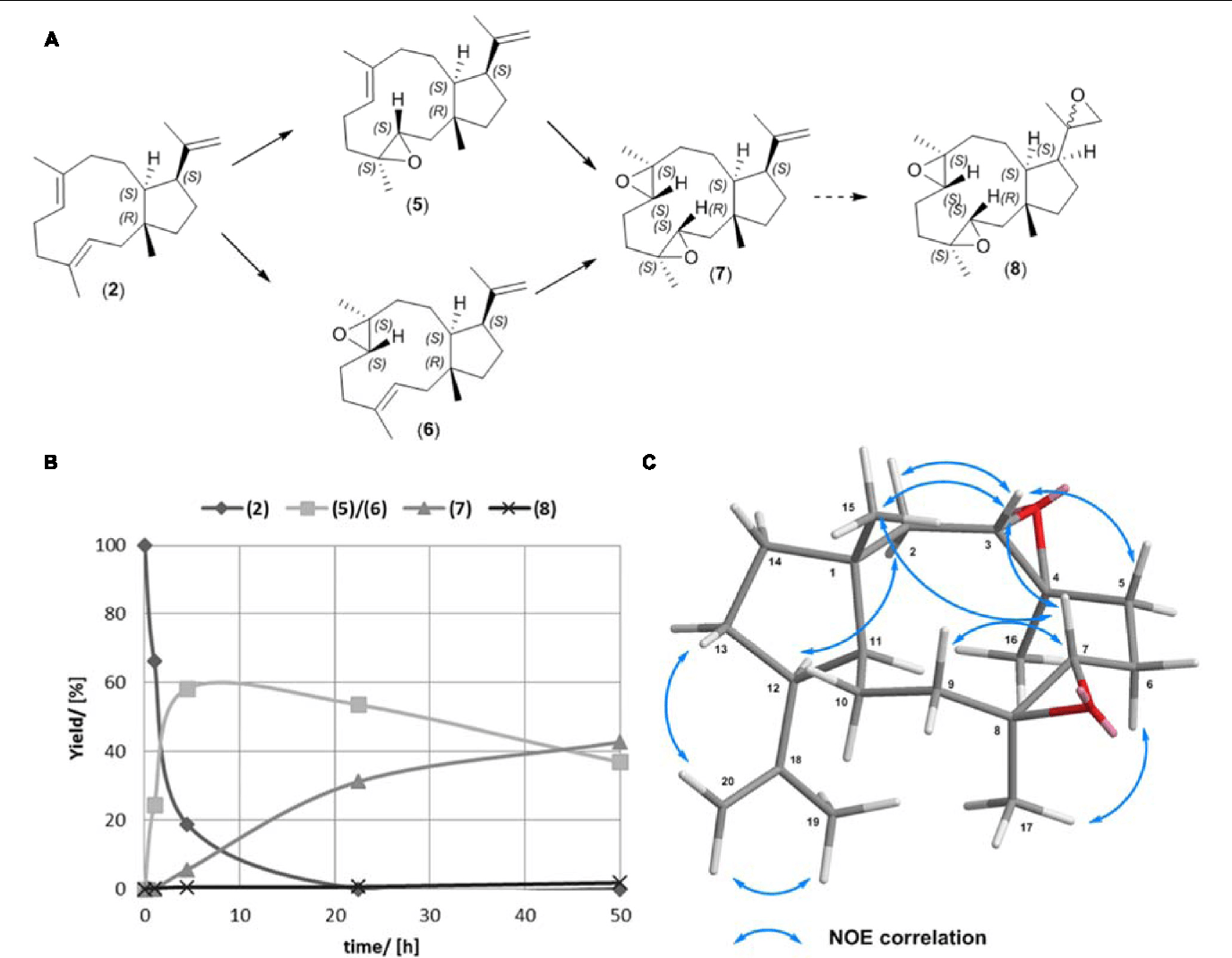 Stereoselective Chemo Enzymatic Oxidation Routes For