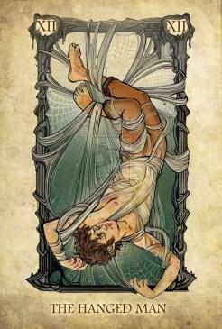 lotr tarot hanged