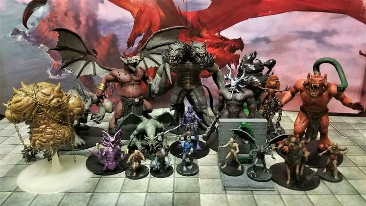 picture regarding Dnd Printable Minis named Virtually 300 free of charge 3D-printable DD minis