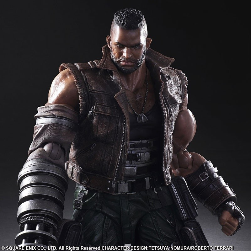 Outlet Play Arts Final Fantasy VII Remake Barret