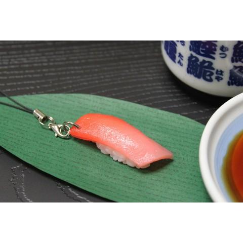 食品サンプルストラップ中トロ寿司