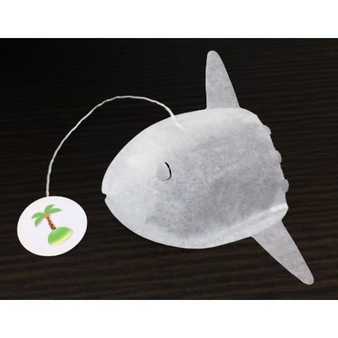 【ocean-teabag】マンボウのティーバッグ(ほうじ茶)