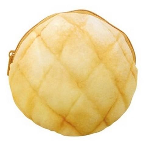 【パンポーチ】まるでパンみたいなポーチ(メロンパン)