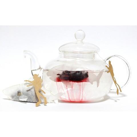 【ocean-teabag】ホオジロザメのティーバッグ(ブレンドハーブティー)