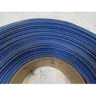 "Goodyear Spiraflex Blue PVC 2"" ID 80 PSI Water Discharge Hose Lay Flat 184'"