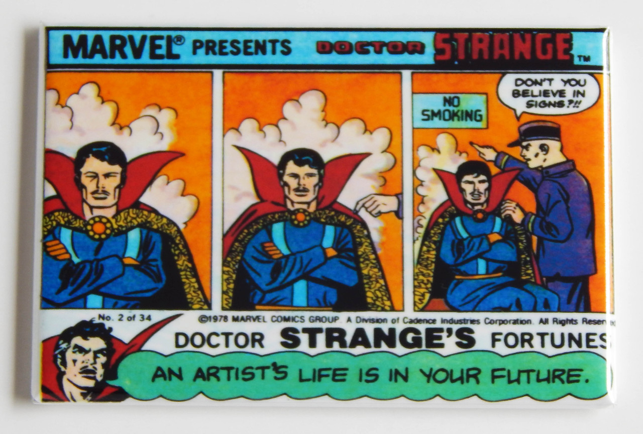 Dr Strange Marvel Presents Fridge Magnet Doctor Stranges