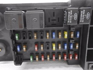 New Old Stock Ford F150 F250 Cabin Fuse Box With Cover and Relays   eBay
