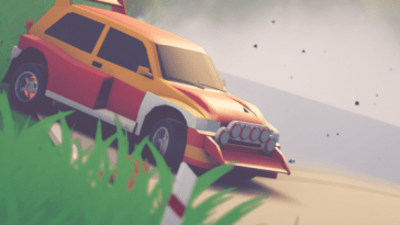 art of rally arrivera sur Switch cet été