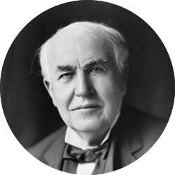 Thomas Edison Famoso fallimento
