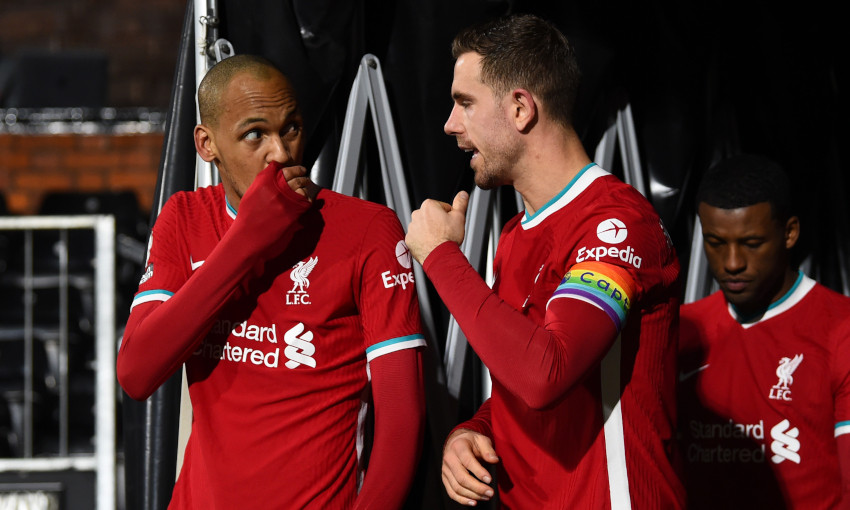 Henderson: Fabinho has responded to defensive challenge magnificently - Liverpool FC