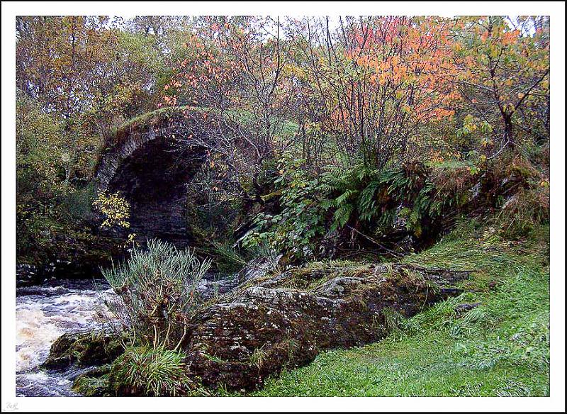 Packhorse Bridge, Glenlivet (Backblip)