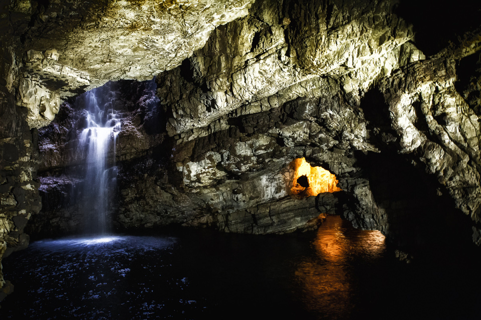 Backblip - Monday at Smoo Cave