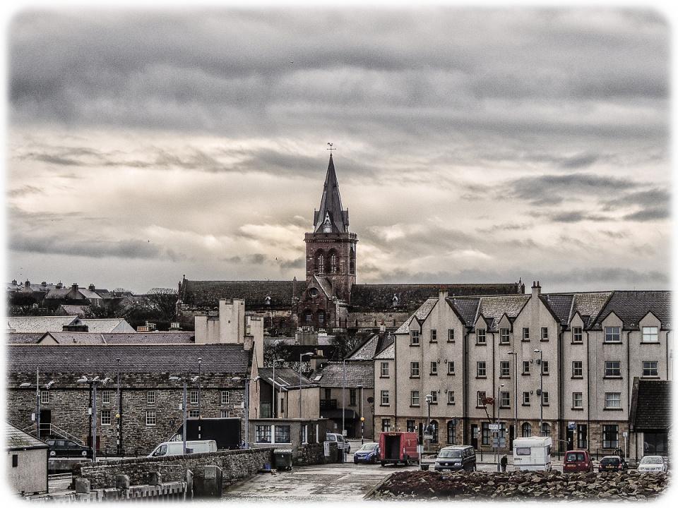 Kirkwall from the Thorfinn