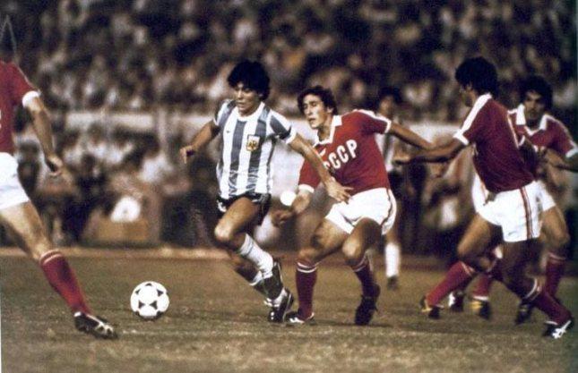 Fatos de Diego Maradona