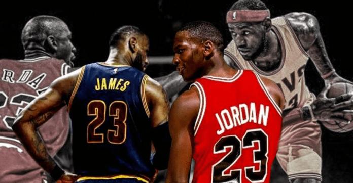 Michael Jordan LeBron James