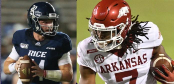 Arkansas vs Rice