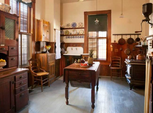 An Authentic Victorian Kitchen Design - Old-House Online ...