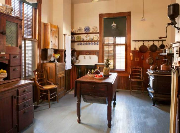 Old Victorian Kitchen Authentic