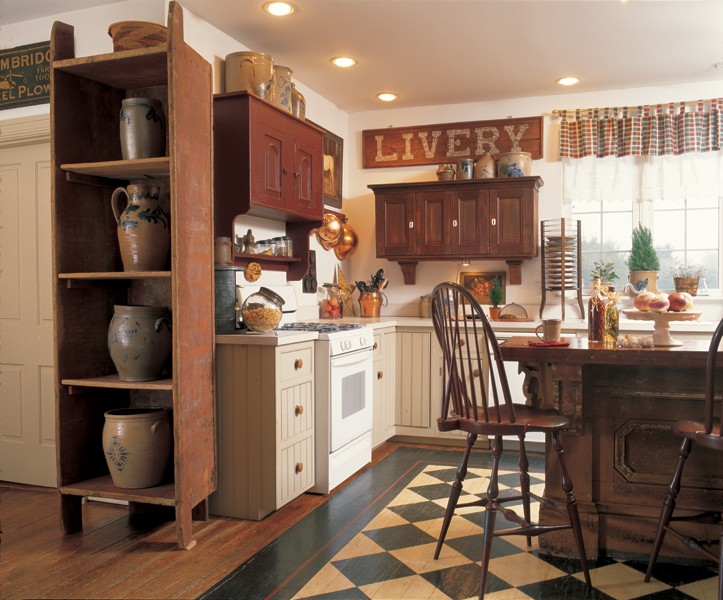 3 Ideas For Decorating With Primitives And Folk Art