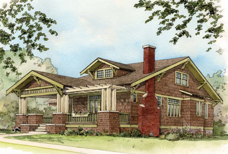 Early 20th Century Suburban House Styles Old House Online Old House Online