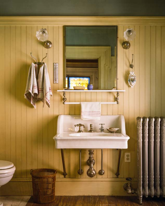 Clean Bathroom Sink. ideas for cottage baths old house online old ...