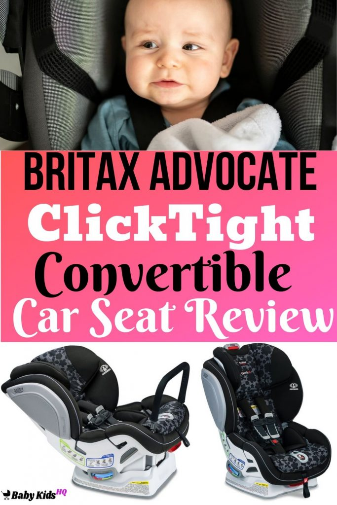 Britax Advocate ClickTight Convertible Car Seat Review
