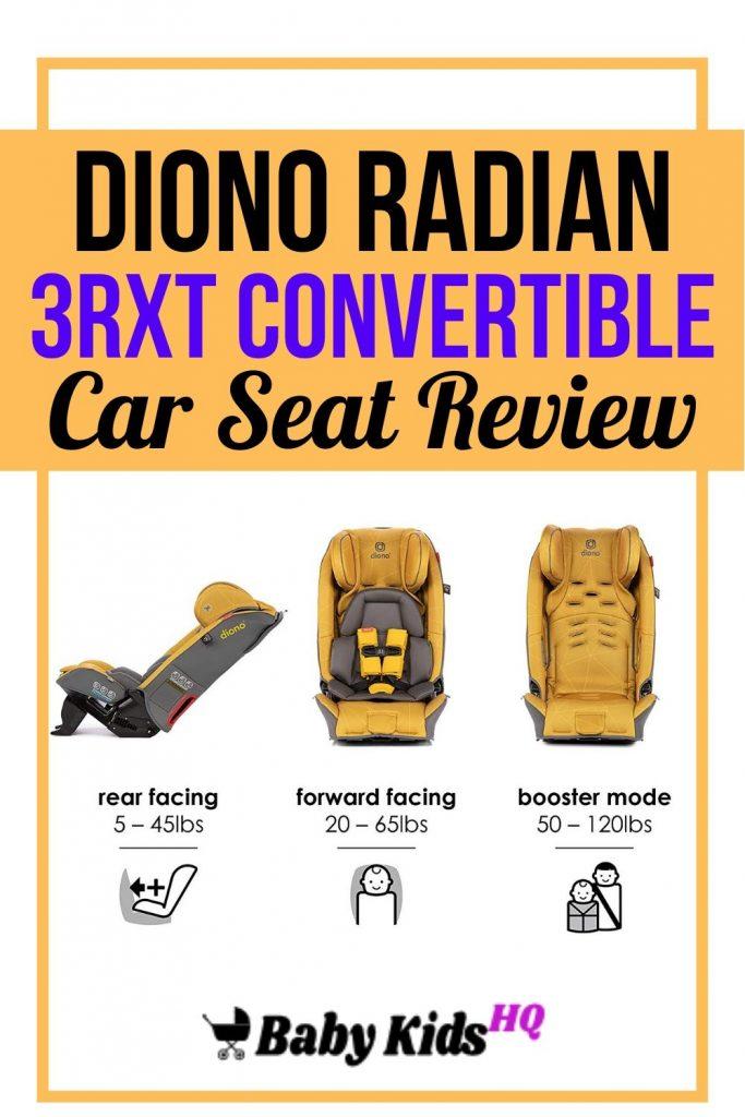 Diono Radian 3RXT Convertible Car Seat Review