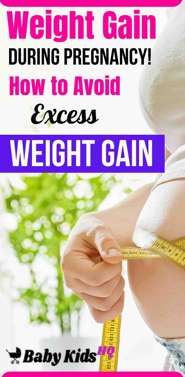 Weight Gain During Pregnancy How to Avoid Excess Weight Gain
