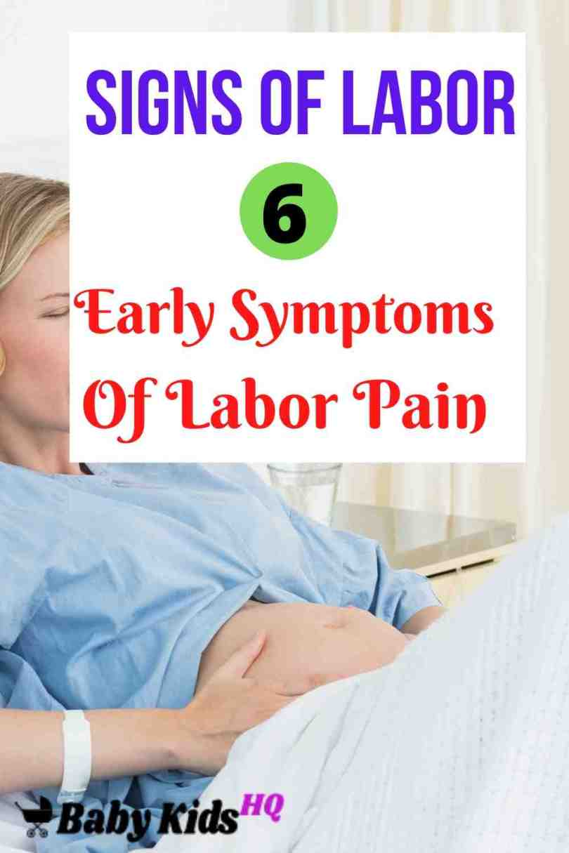 Signs of Labor: 6 Early Symptoms Of Labor Pain In 9th Month 1
