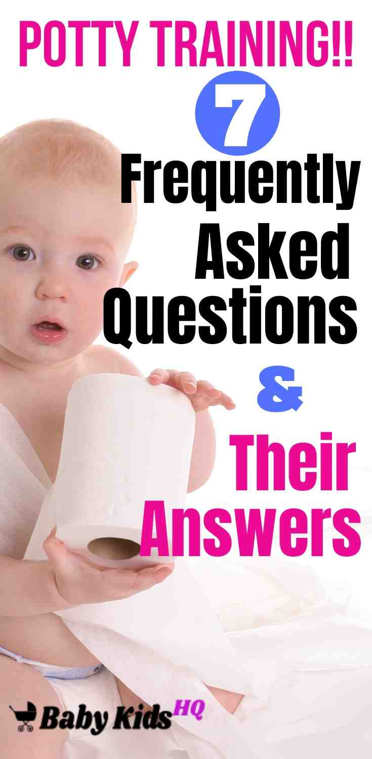 Potty Training: 7 Frequently Asked Questions & Their Answers 4