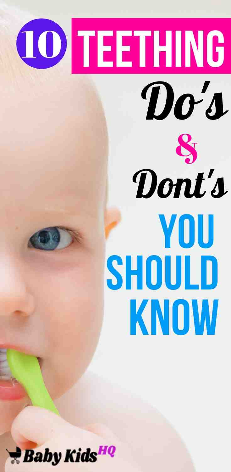 10 Teething Do's and Don'ts Every New Mom Should Know About!! 4