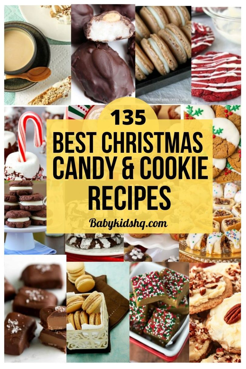 135 Best Christmas Candy & Cookie Recipe