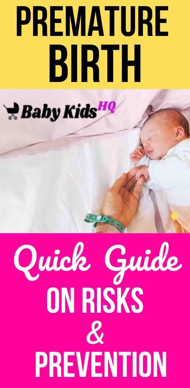 Premature Birth: Quick Guide On Risks & Prevention 2