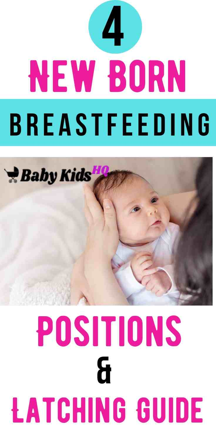 If you're a first-time parent, breastfeeding your newborn may seem complicated until you've had some practice. Before you begin nursing, it's a good idea to take a look the breastfeeding positions for newborn. #breastfeeding #newmom #pregnancy