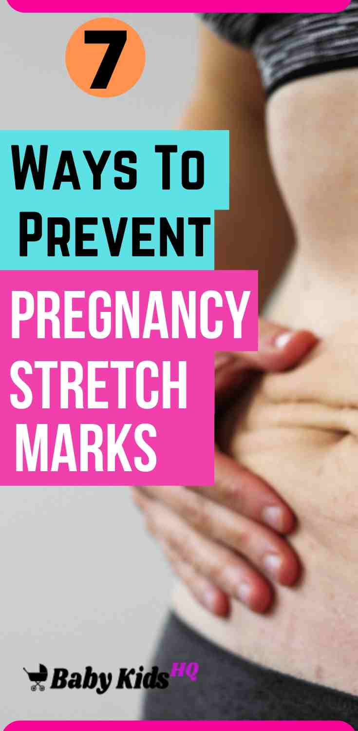 7 Ways to Prevent Stretch Marks During Pregnancy!!