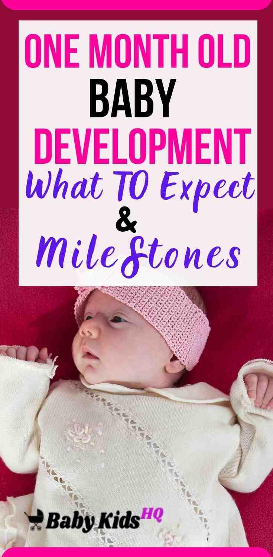 One Month Old Baby Development & Milestones