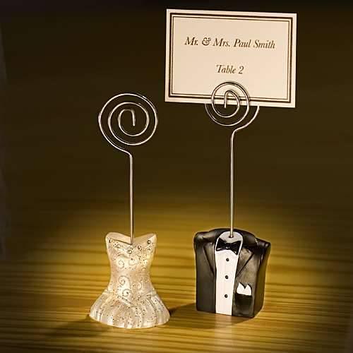 Einssein 12x Kartonagen Gastgeschenke Hochzeit Tischkartenhalter