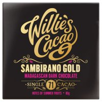 Willie's Cacao Madagascan gold 71